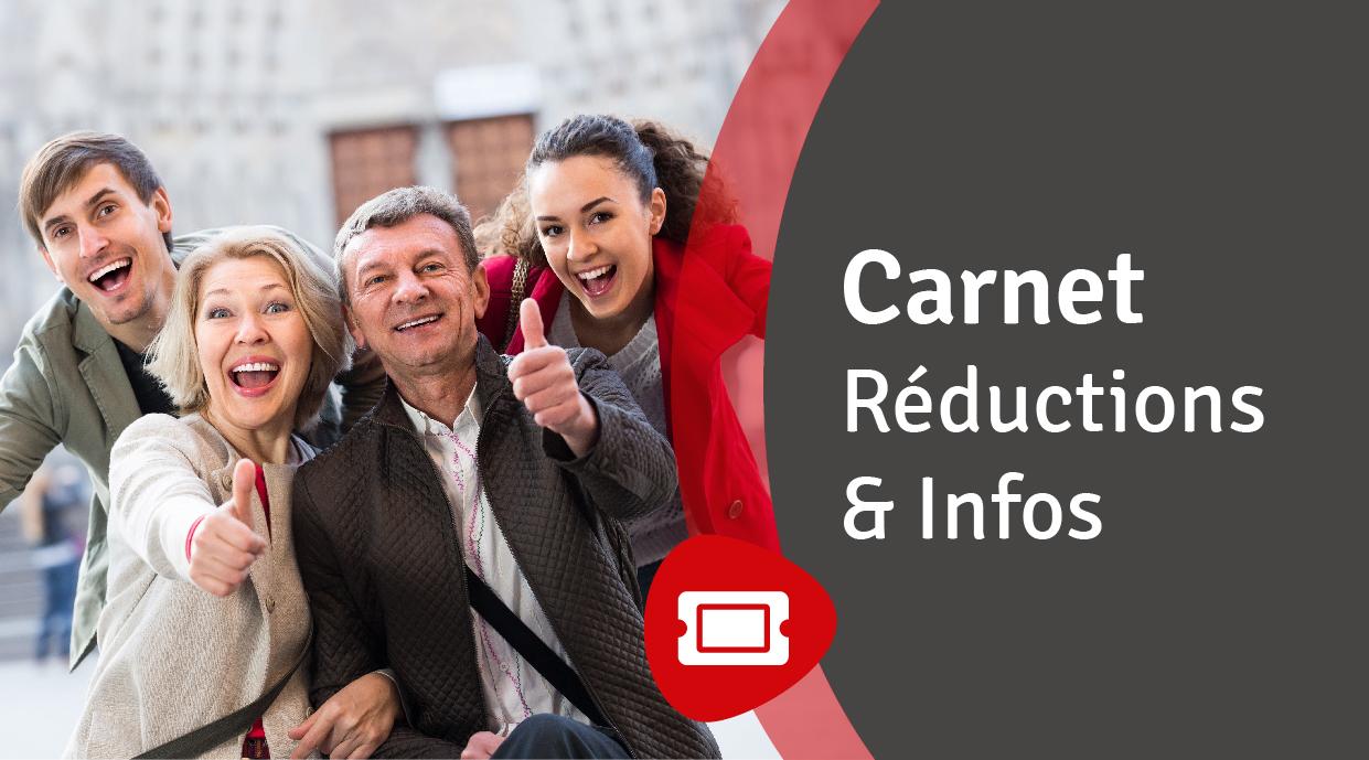 Carnet Réductions & Infos